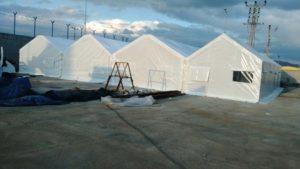 İzolasyonlu Çadır